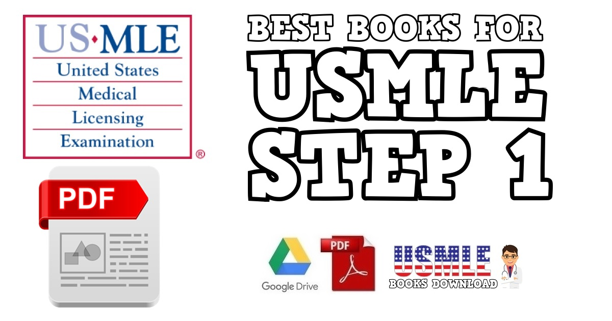 Best USMLE Step 1 Books PDF