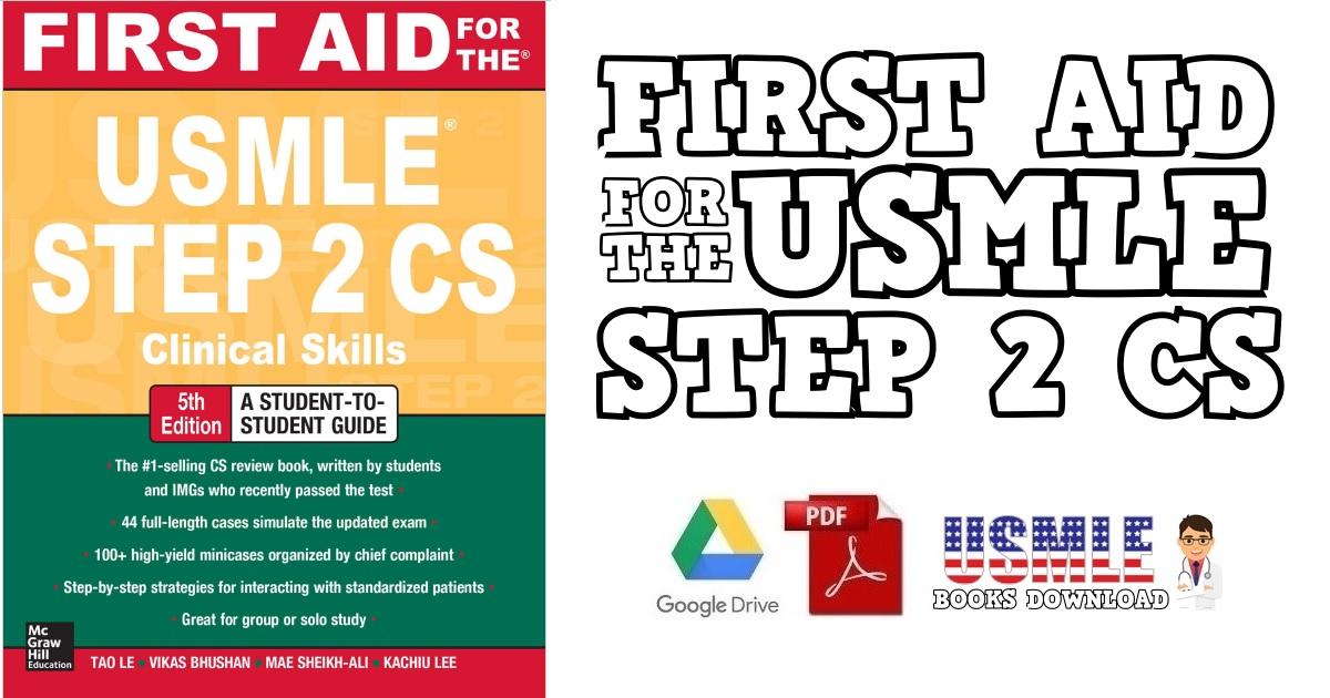 first aid step 2 cs 5th edition pdf free