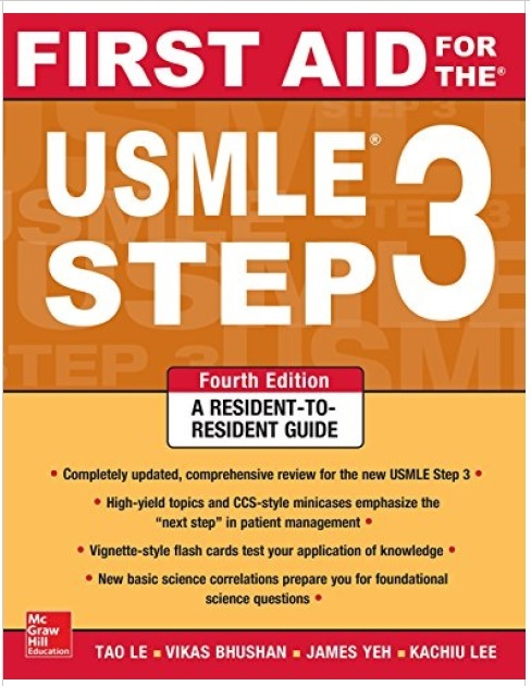 First Aid for the USMLE Step 3 4th Edition PDF Free Download