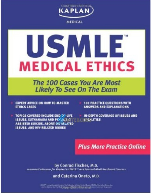 Kaplan Medical USMLE Medical Ethics 1st Edition PDF