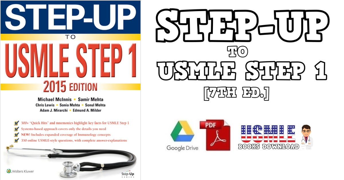 Step-Up to USMLE Step 1 2015 7th Edition PDF
