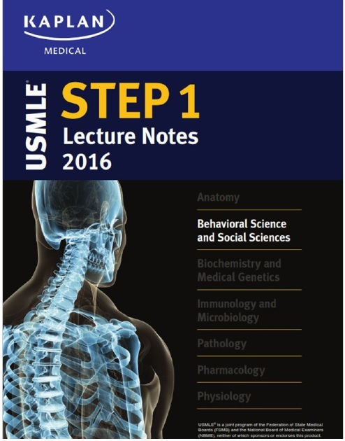 USMLE Step 1 Lecture Notes 2016: Behavioral Science and Social Sciences PDF
