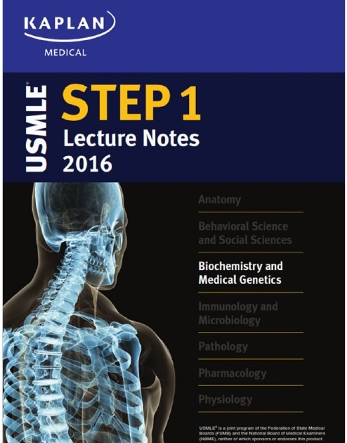 USMLE Step 1 Lecture Notes 2016: Biochemistry and Medical Genetics PDF