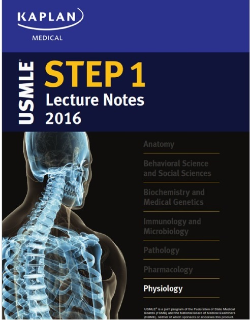 USMLE Step 1 Lecture Notes 2016: Physiology PDF