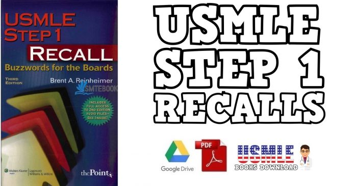 USMLE Step 1 Recall: Buzzwords for the Boards 3rd Edition PDF
