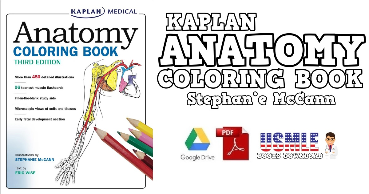 - Anatomy Coloring Book PDF Free Download [Direct Link]