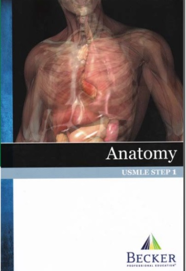 BECKER USMLE Step 1 Anatomy PDF.