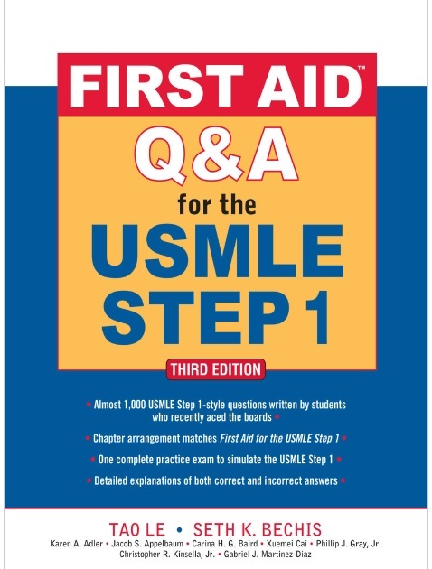 First Aid Q&A for the USMLE Step 1 3rd Edition PDF