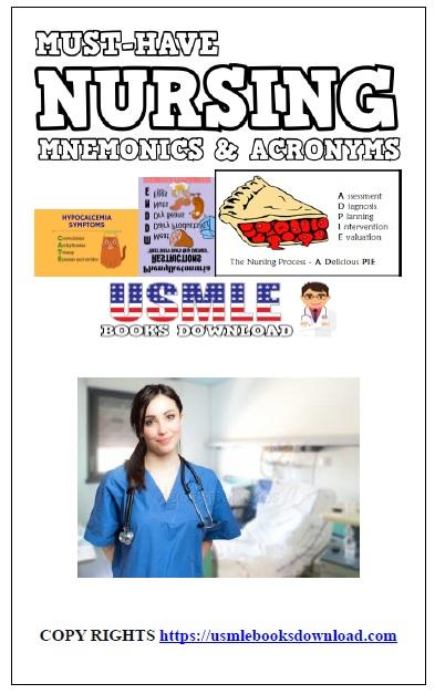 Must-Have Nursing Mnemonics PDF