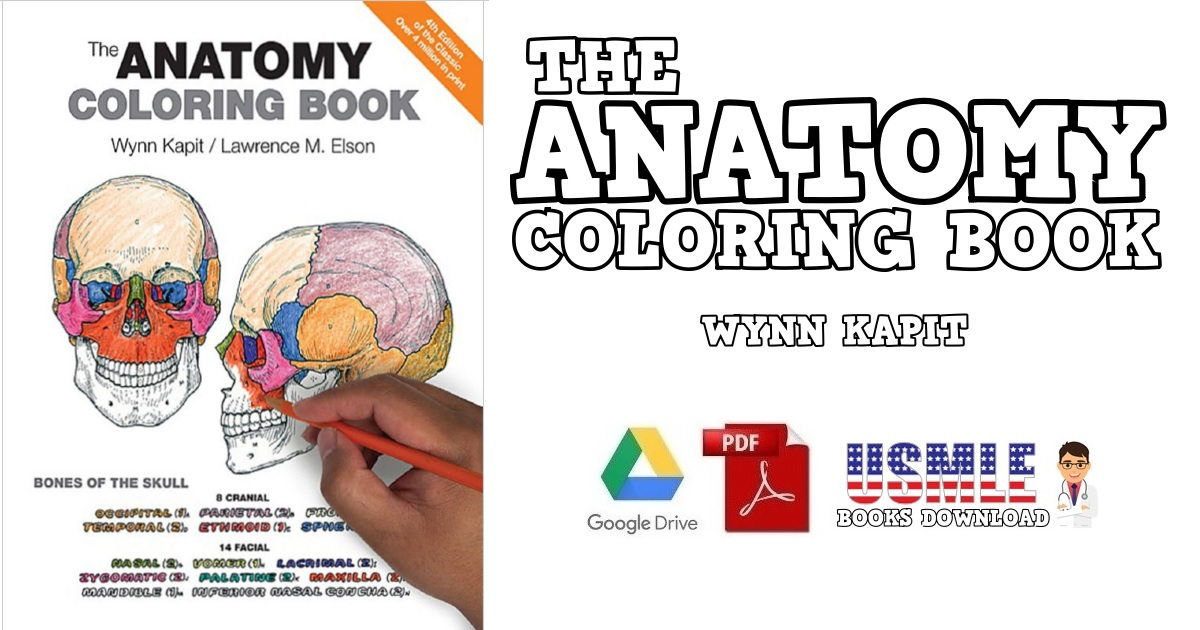 Anatomy Coloring Book PDF Free Download [Direct Link]