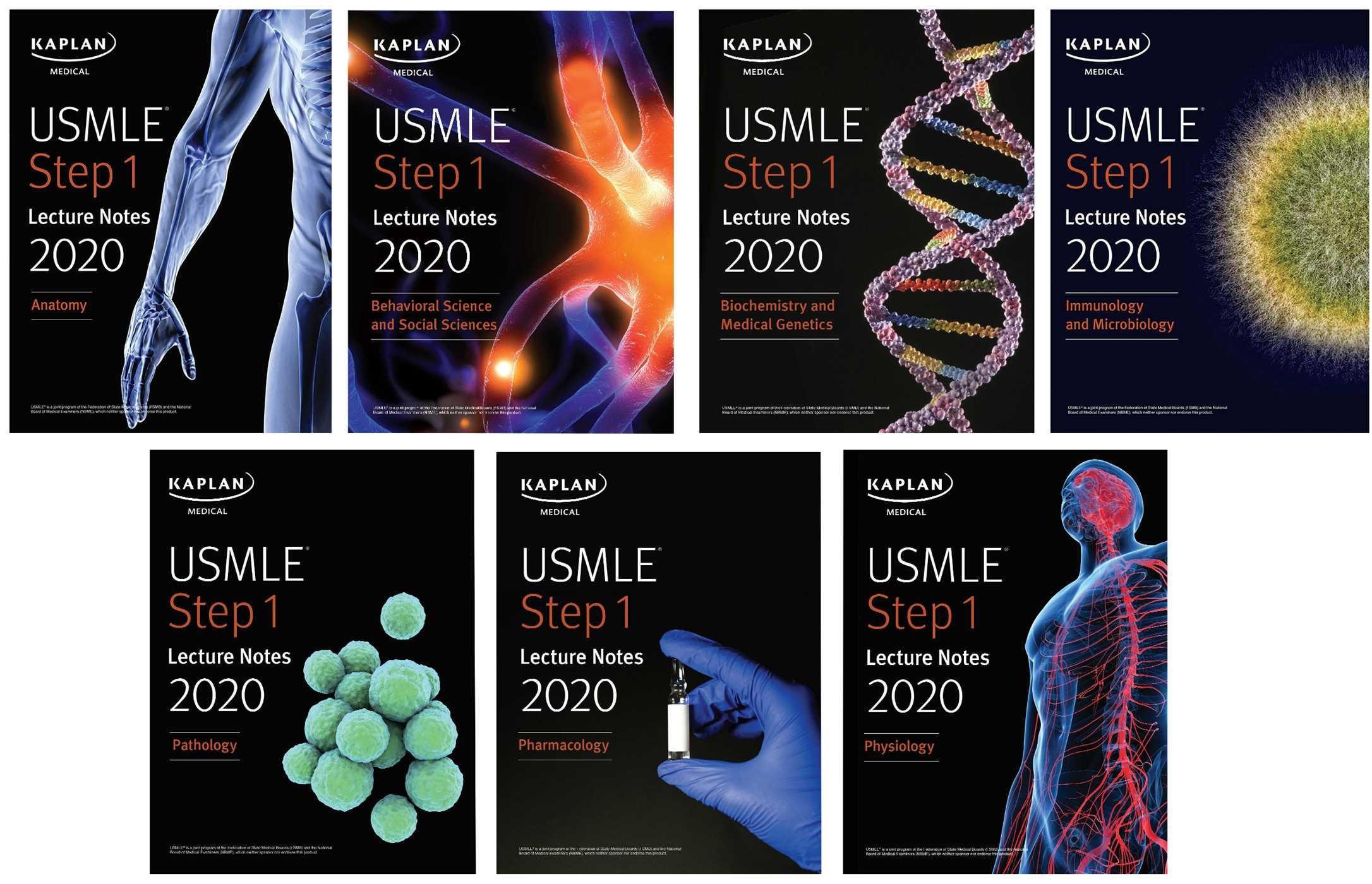 USMLE Step 1 Lecture Notes 2019 7-Book Set PDF