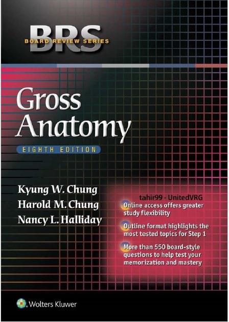 BRS Gross Anatomy 8th Edition PDF