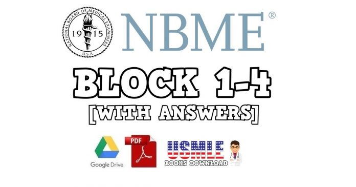 NBME 1 Block 1-4 (With Answers) PDF