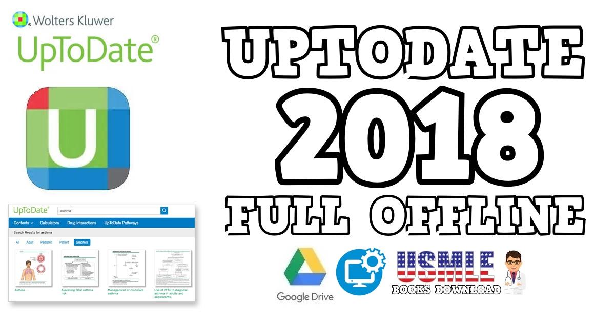 Uptodate 2018 Edition Full Offline