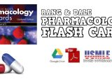 Rang & Dale's Pharmacology Flash Cards PDF