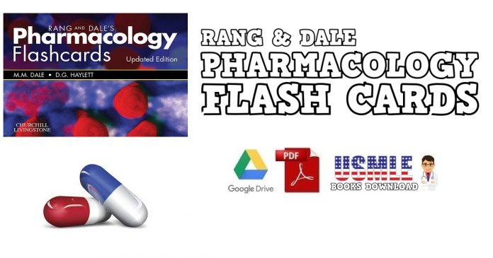 Rang & Dale's Pharmacology Flash Cards PDF