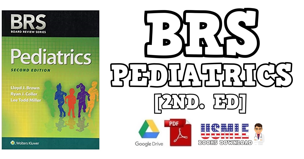 BRS Pediatrics 2nd Edition PDF