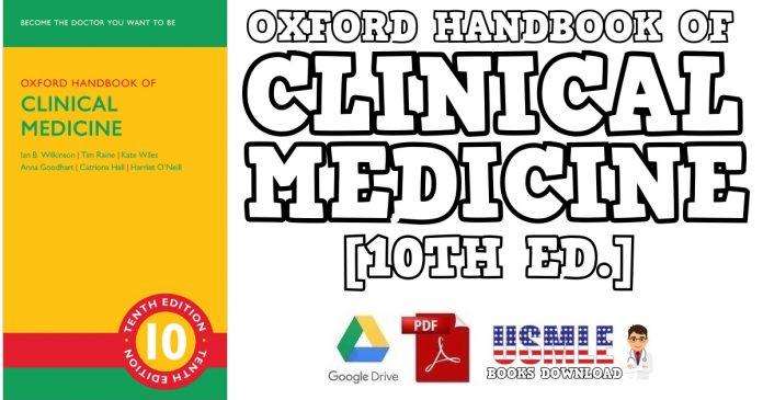 Oxford Handbook of Clinical Medicine 10th Edition PDF