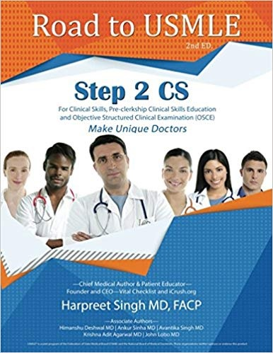 Road to USMLE Step 2 CS PDF