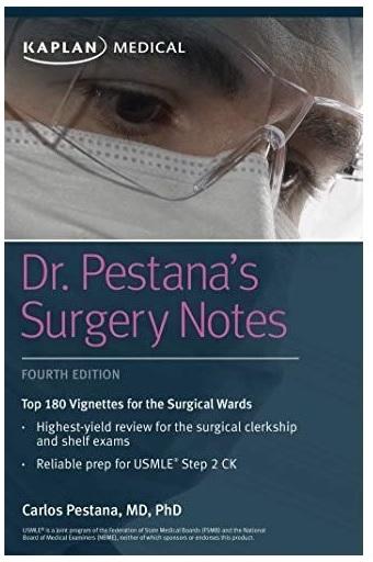Dr. Pestana's Surgery Notes 4th Edition PDF