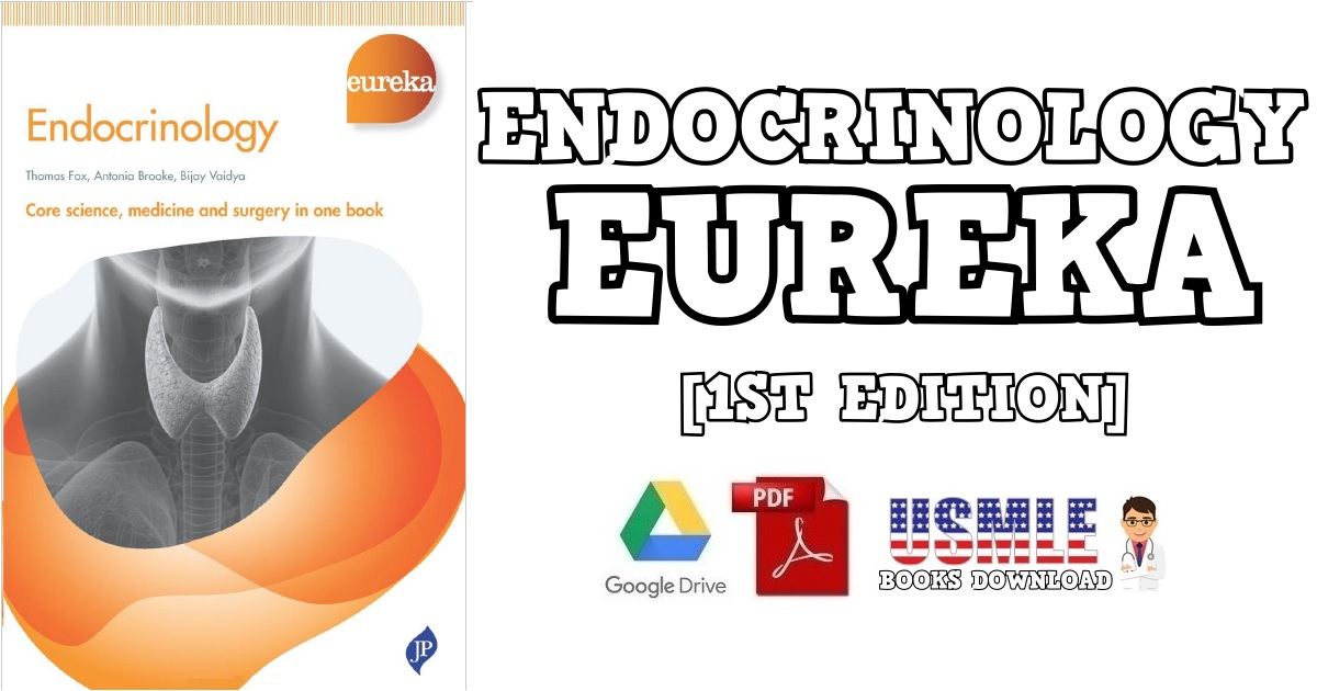 Endocrinology (Eureka) 1st Edition PDF
