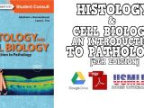 Histology and Cell Biology An Introduction to Pathology 4th Edition PDF Free Download