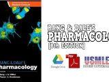 Rang & Dale's Pharmacology, 8th Edition PDF