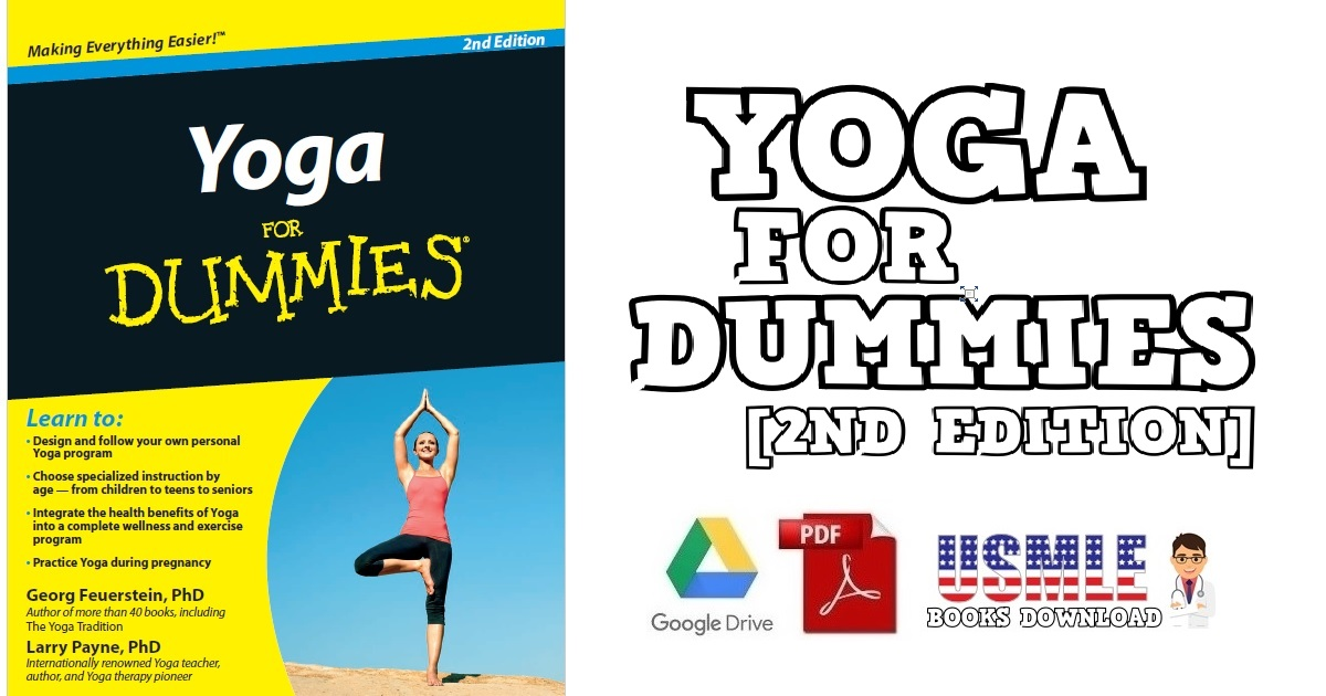 Yoga For Dummies 2ND Edition PDF