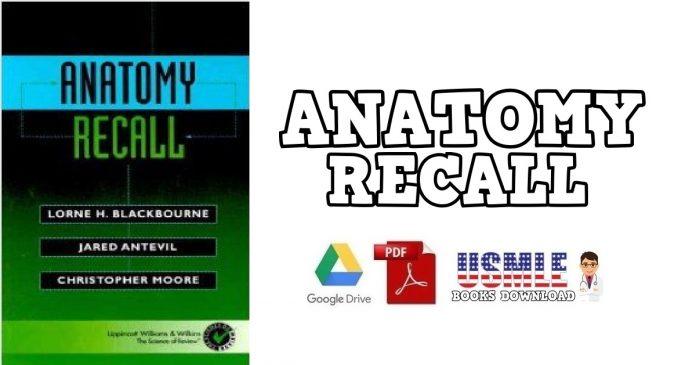 Anatomy Recall PDF