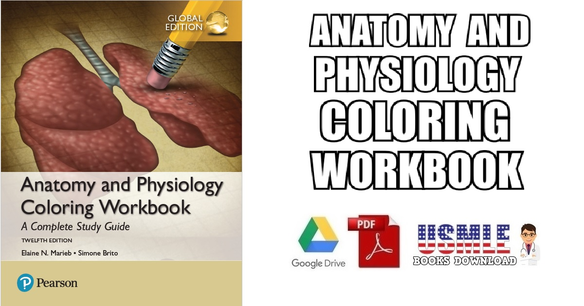 Anatomy And Physiology Coloring Workbook PDF Free Download