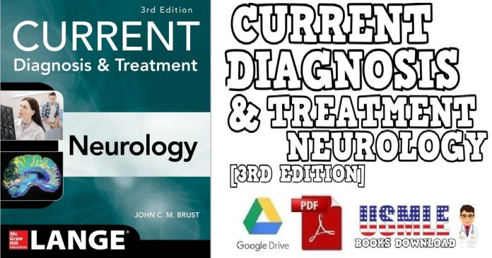 CURRENT Diagnosis & Treatment Neurology 3rd Edition PDF