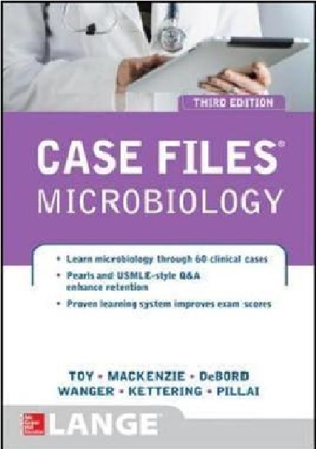 Case Files Microbiology 3rd Edition PDF