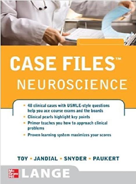 Case Files Neuroscience PDF
