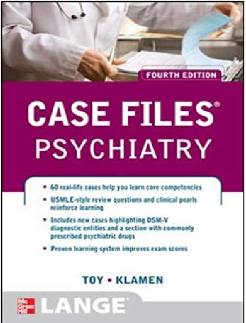 Case Files Psychiatry 4th Edition PDF