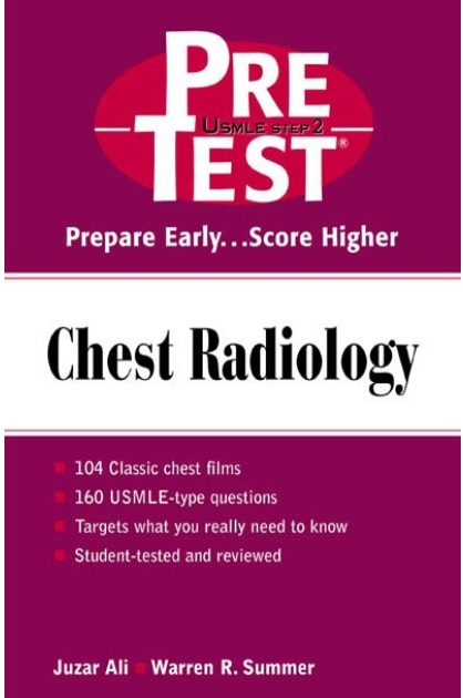 Chest-Radiology-PreTest-Self-Assessment-and-Review-1st-Edition PDF
