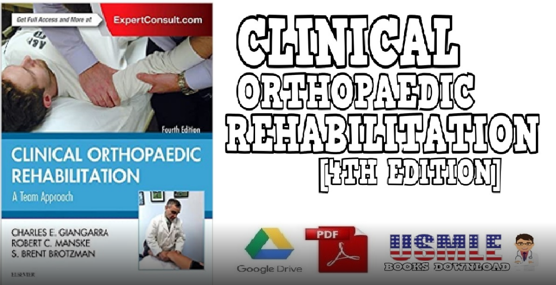 Clinical Orthopaedic Rehabilation 4th Edition PDF