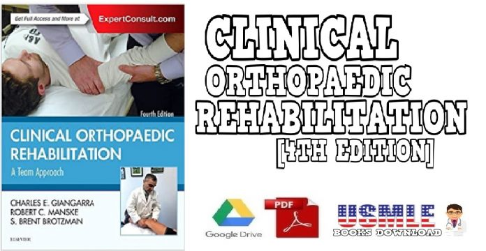 Clinical Orthopaedic Rehabilitation A Team Approach 4th Edition PDF