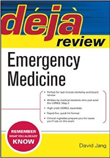 Deja Review Emergency Medicine PDF