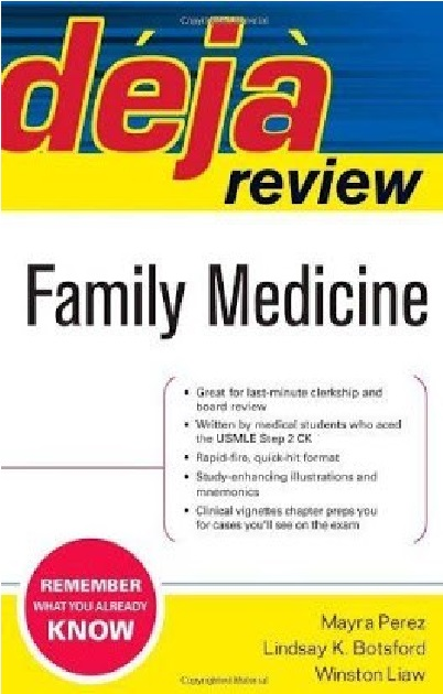 Deja Review Family Medicine PDF