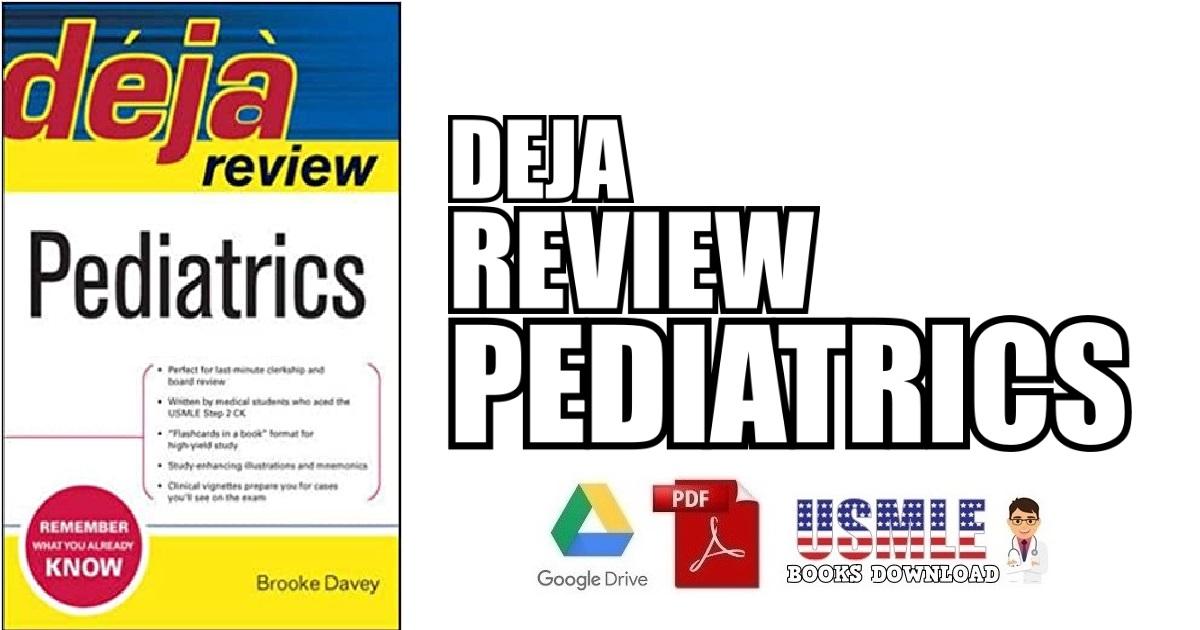 Deja Review Pediatrics PDF