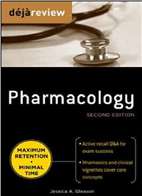 Deja Review Pharmacology 2nd Edition PDF