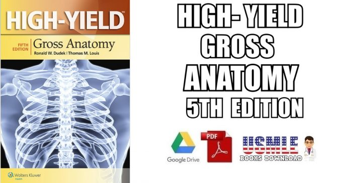 High-Yield™ Gross Anatomy 5th Edition PDF