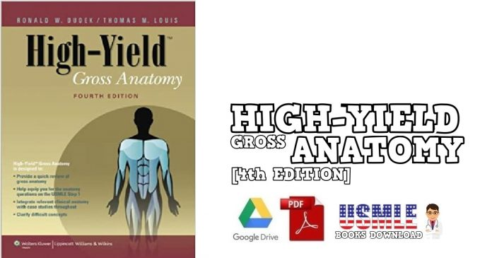 High-Yield Gross Anatomy 4th Edition PDF