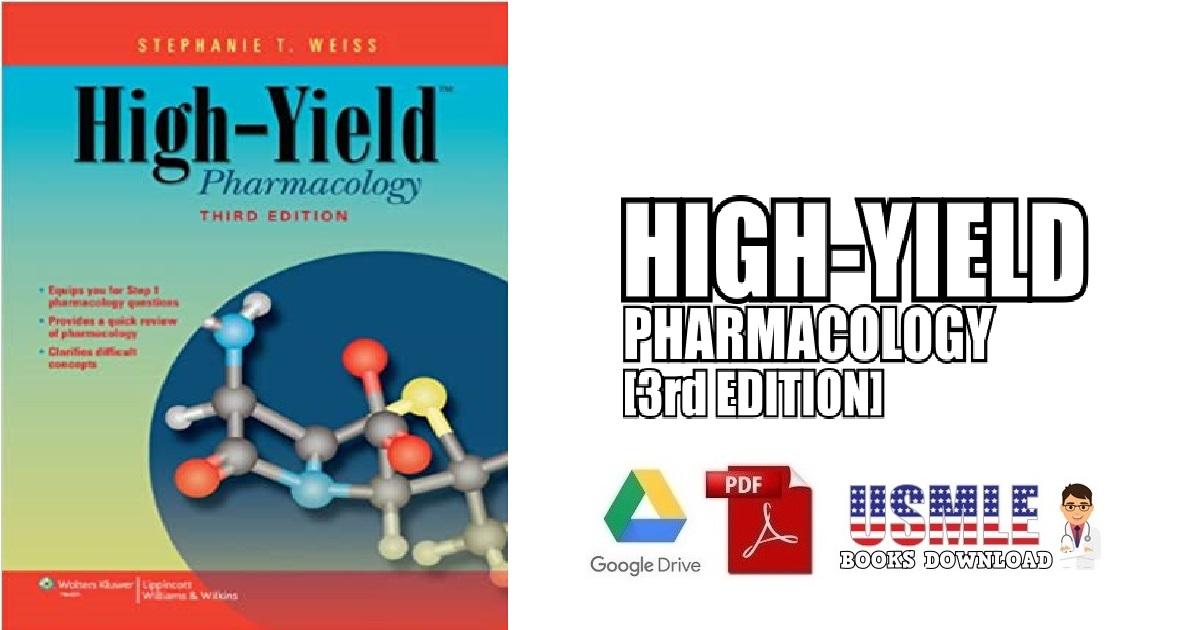 High-Yield Pharmacology 3rd Edition PDF