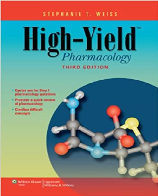 High-Yield Pharmacology 3rd Edition PDF