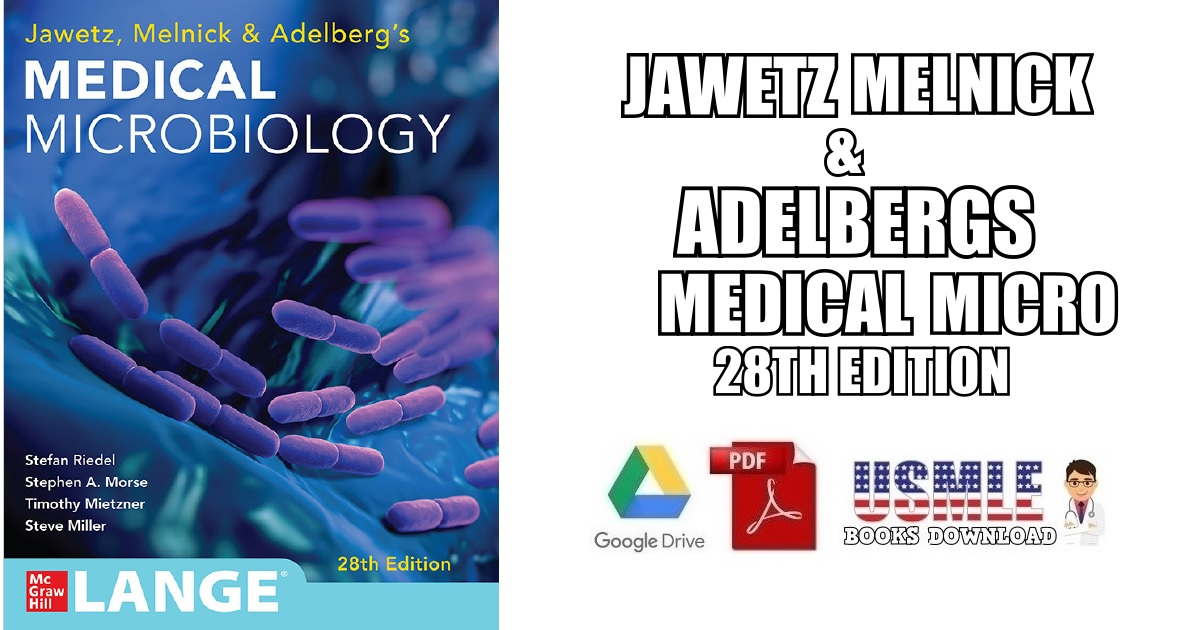 Jawetz Melnick & Adelbergs Medical Micro 28th Edition PDF