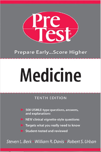 Medicine PreTest Self Assessment and Review 10th Edition PDF