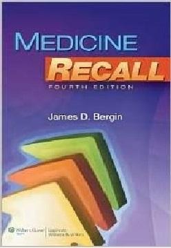 Medicine Recall 4th Edition PDF
