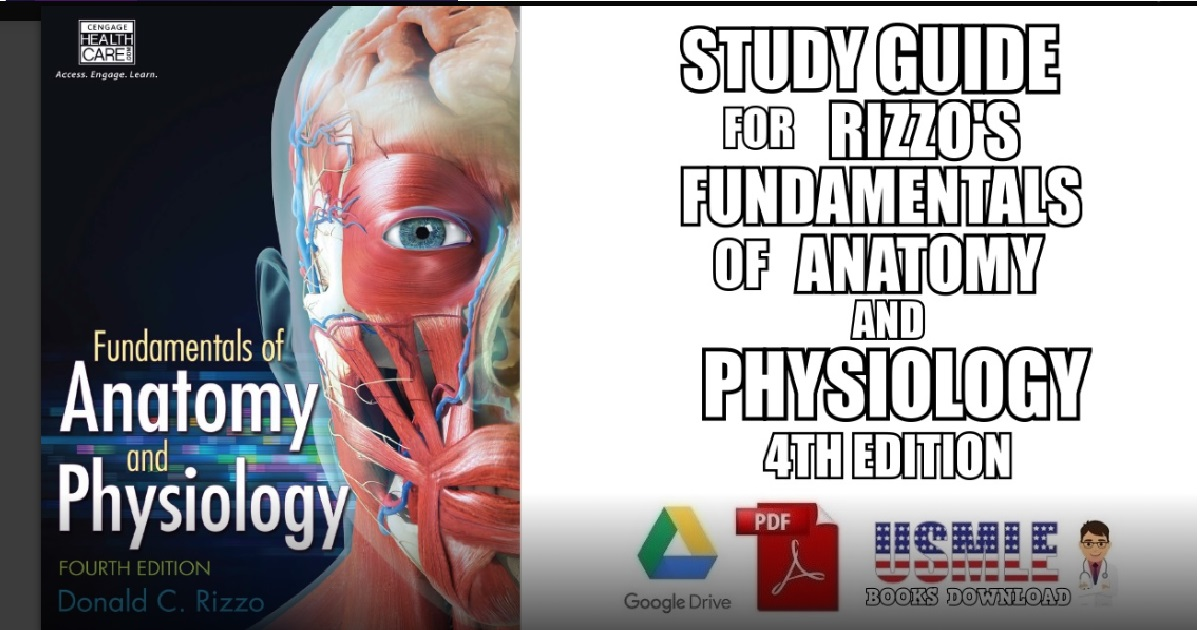Study Guide for Rizzo's Fundamentals of Anatomy and Physiology 4th Edition PDF Free Download