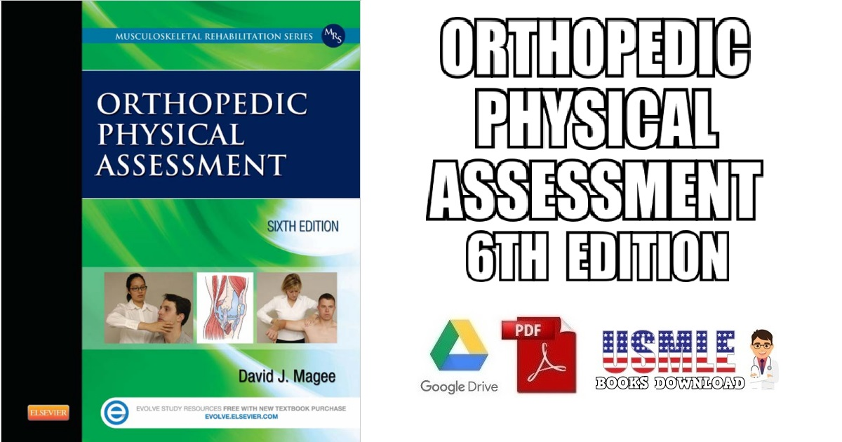 Orthopedic Physical Assessment 6th Edition PDF